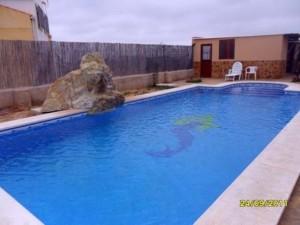 Chalet con piscina en S. Roque